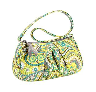 Vera Bradley Frannie in Lemon Parfait