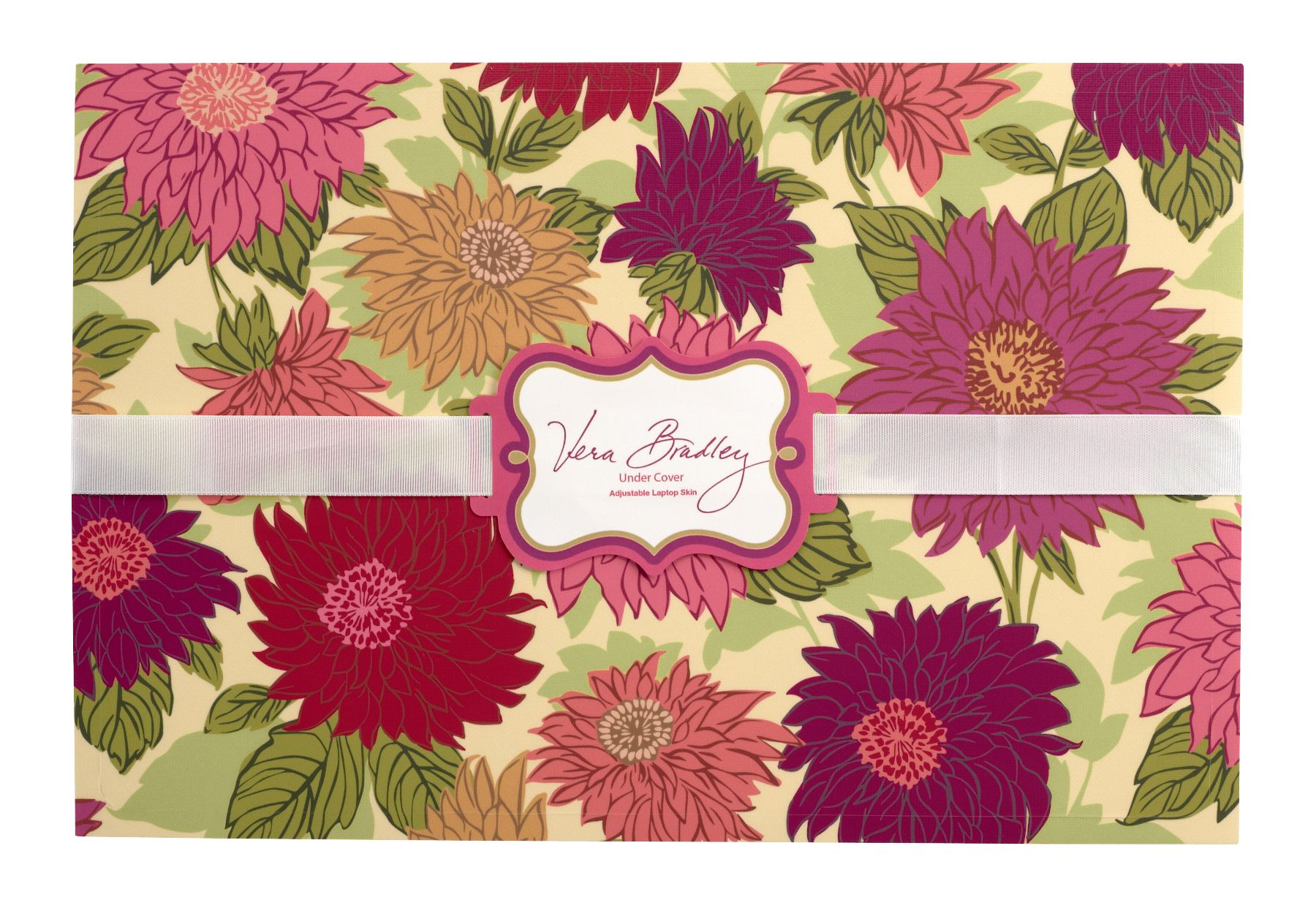 Vera Bradley Under Cover Laptop Skin in Hello Dahlia