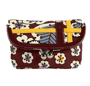 Vera Bradley Please Hold in Slate Blooms