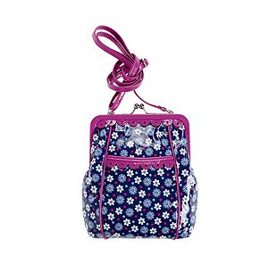 Vera Bradley Sugar and Spice Crossbody in Boysenberry