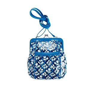 Vera Bradley Sugar and Spice Crossbody in Blue Lagoon