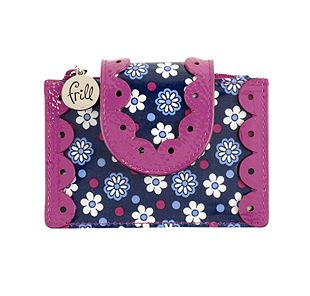 Vera Bradley Pretty and Petite Card Holder in Boysenberry