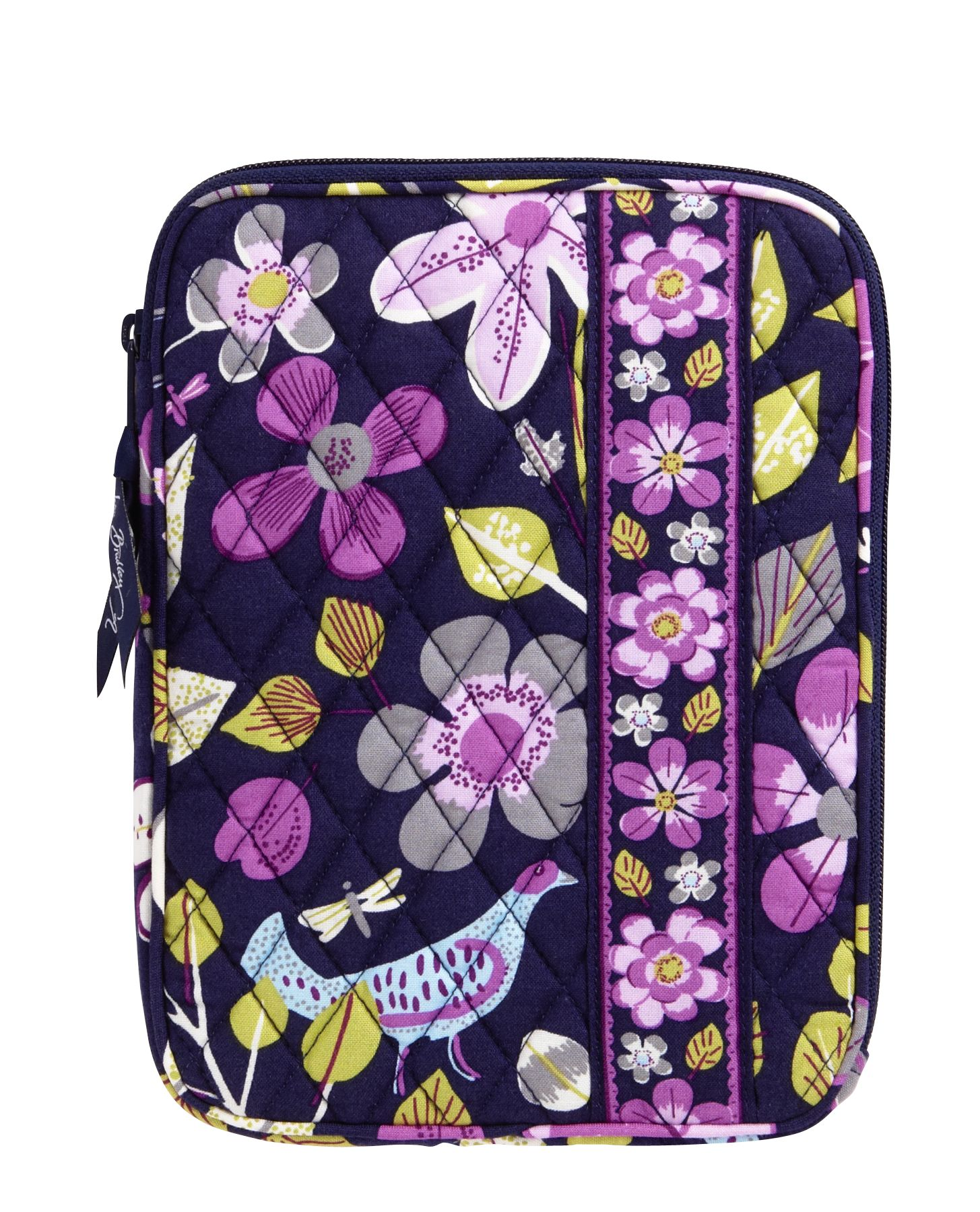 Vera Bradley E-Reader Sleeve in Floral Nightingale