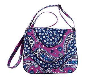 Vera Bradley Crossbody in Boysenberry