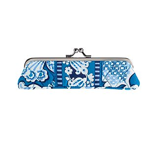 Vera Bradley Slim Case in Blue Lagoon