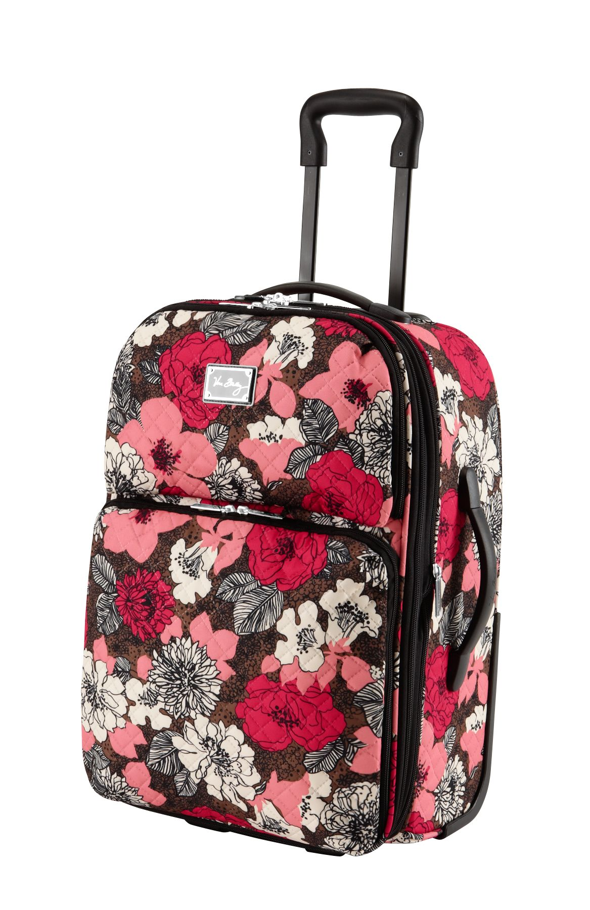 Vera Bradley 22 Expandable Upright in Mocha Rouge