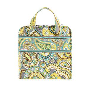 Vera Bradley Tech Organizer in Lemon Parfait