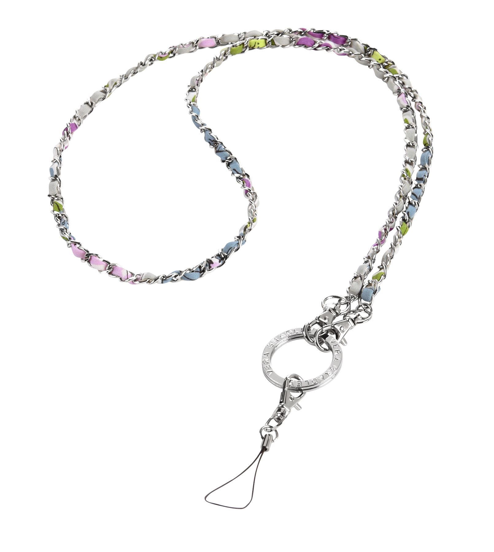 Vera Bradley Chain Lanyard in Watercolor