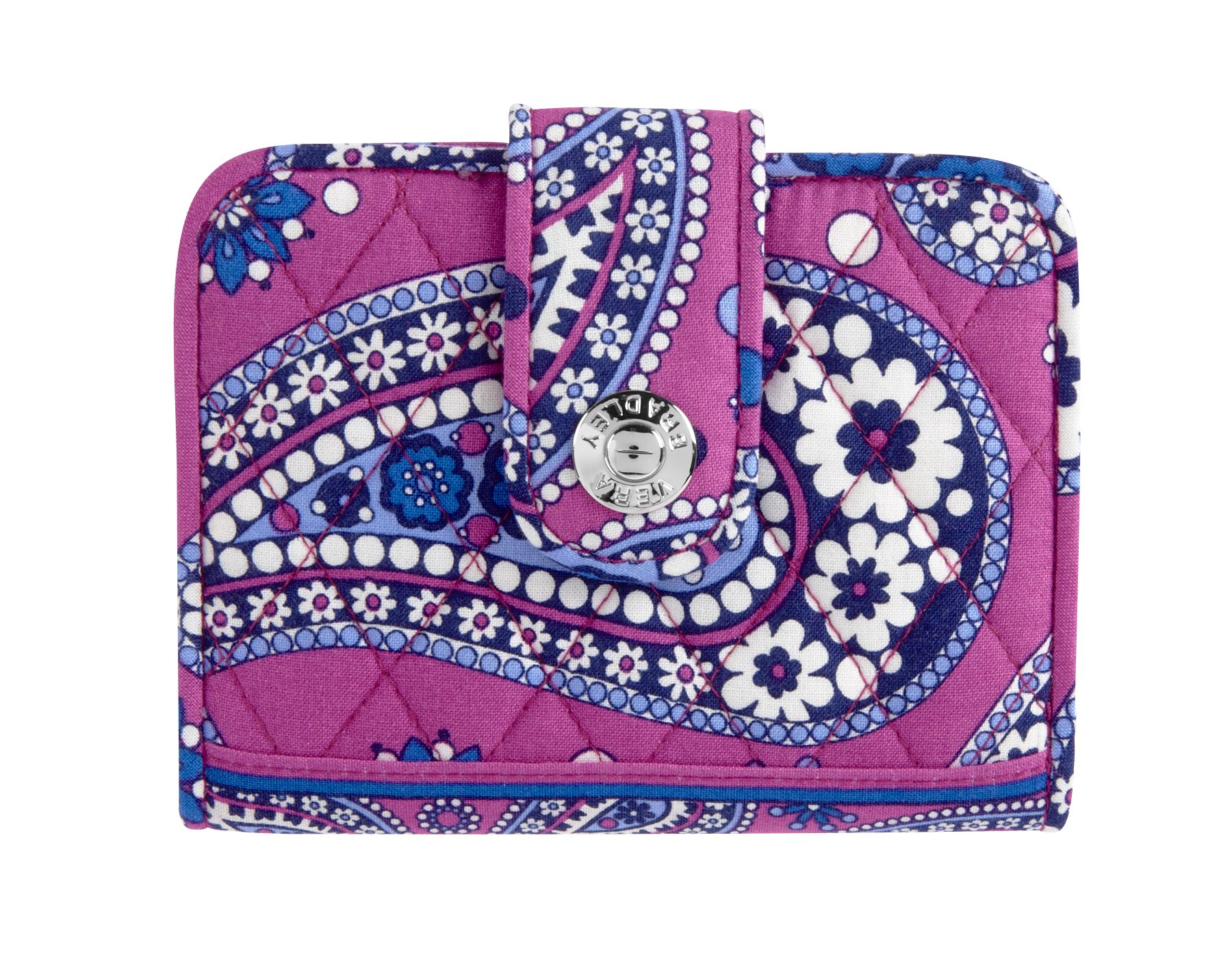 Vera Bradley Snappy Wallet in Boysenberry