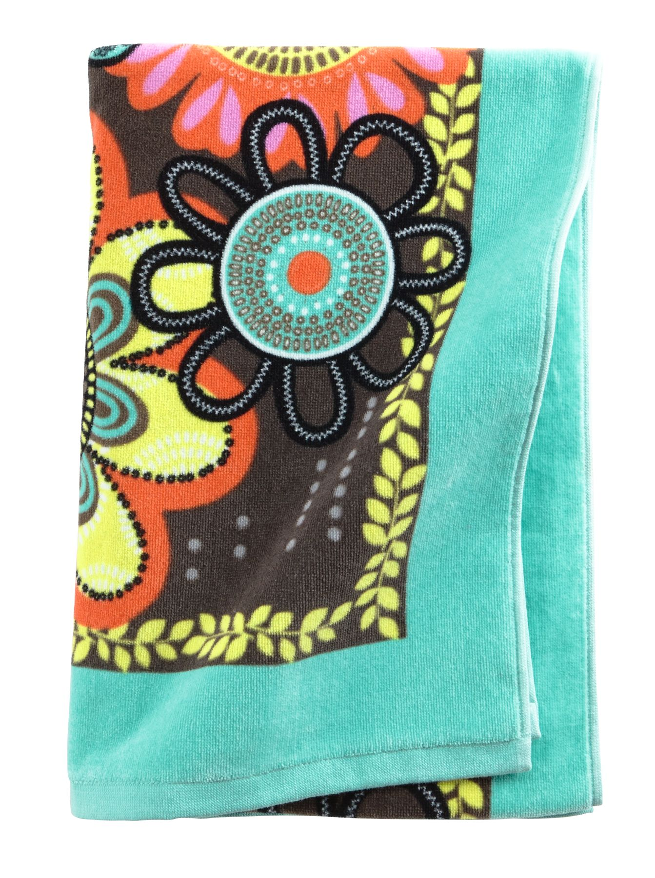 Vera Bradley Beach Towel in Flower Shower $ 35.00