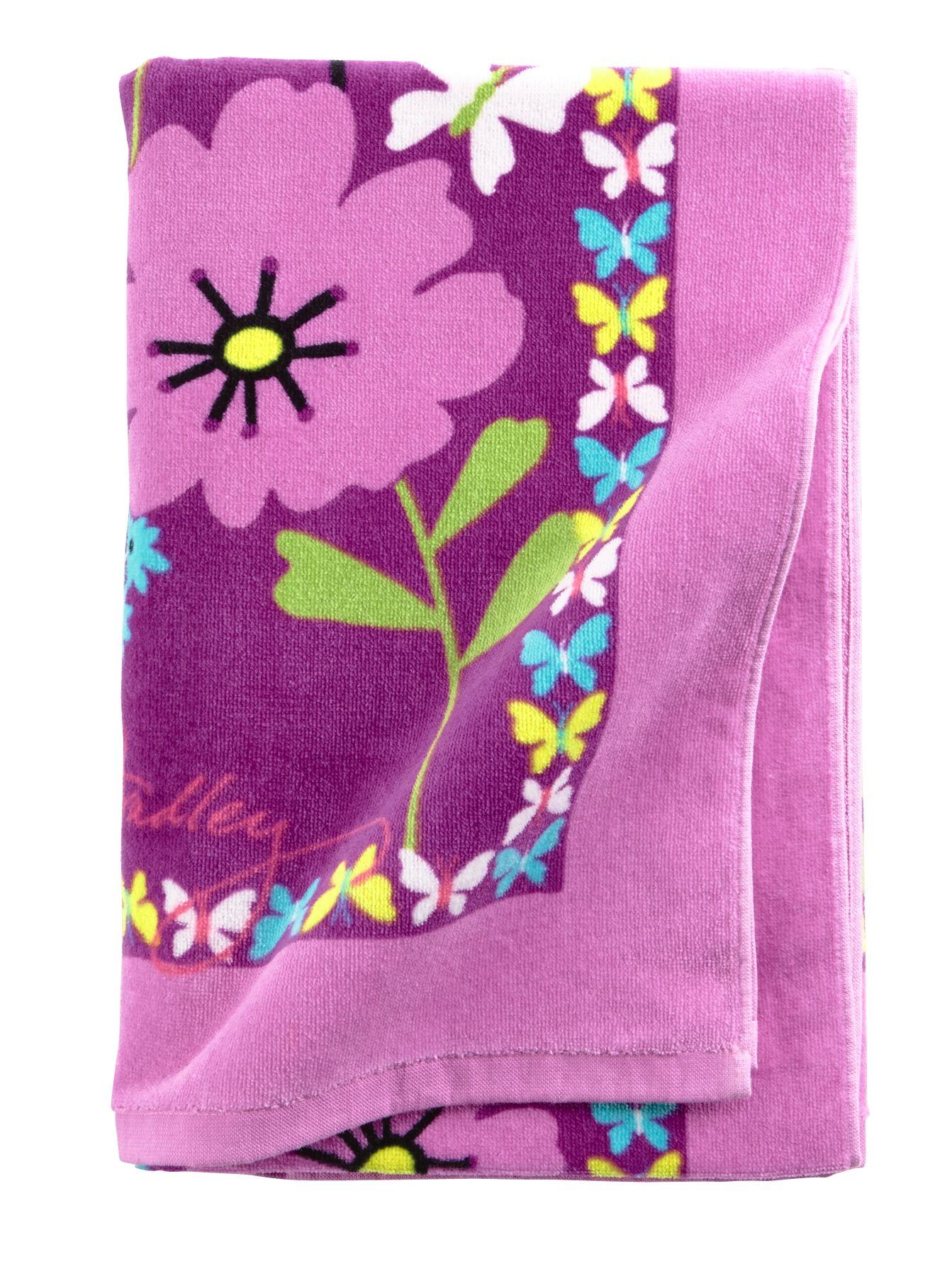 Vera Bradley Beach Towel in Flutterby $ 35.00