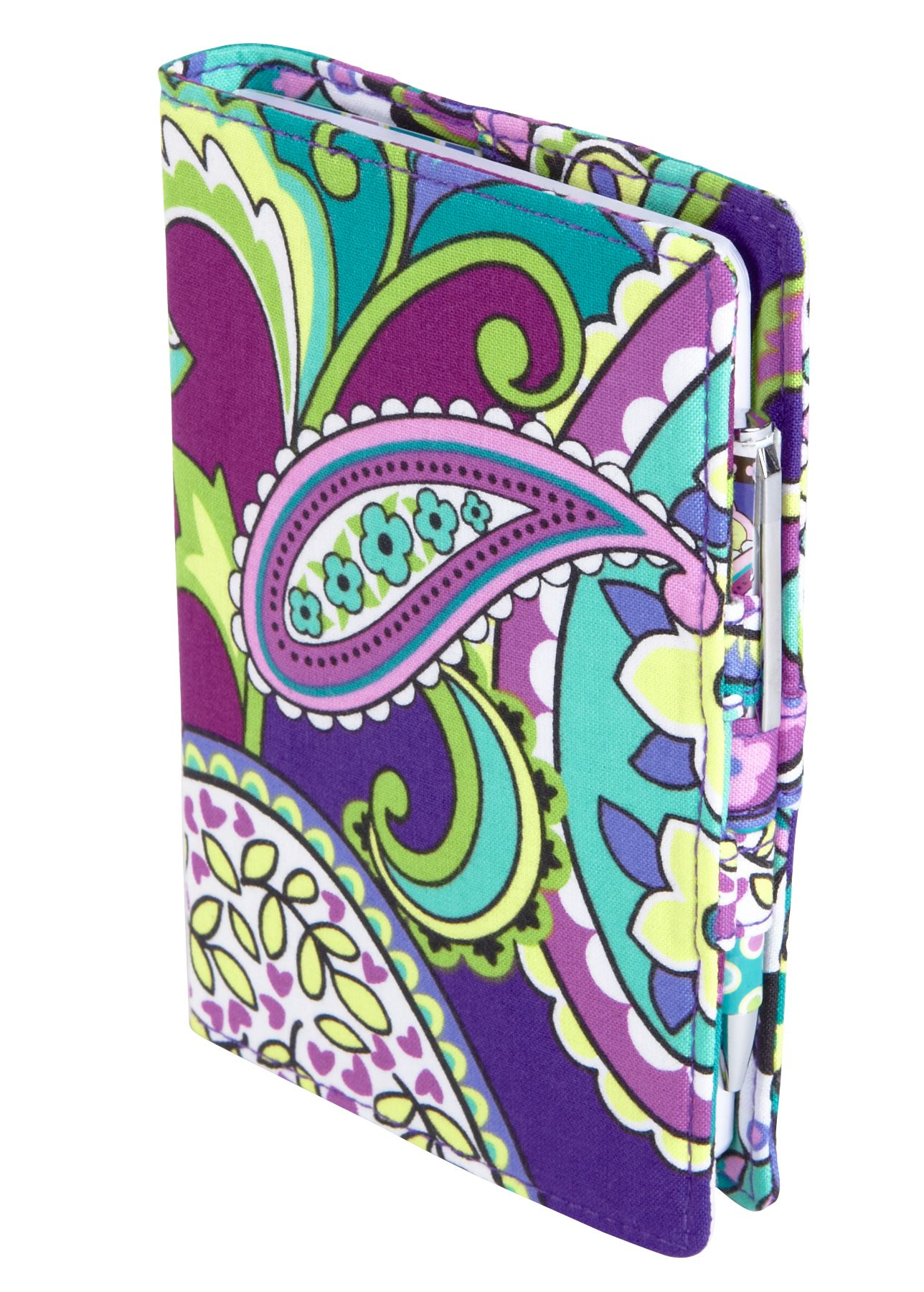 83505d5a00 Vera Bradley Fabric Journal in Heather 16.00