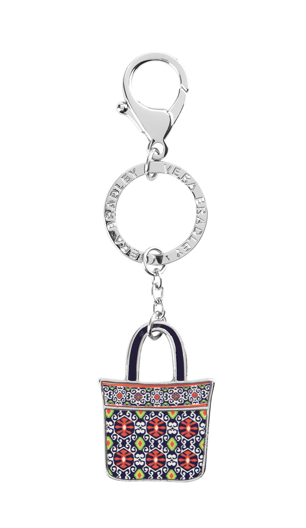 Vera Bradley Tote Around Keychain in Sun Valley $ 15.40