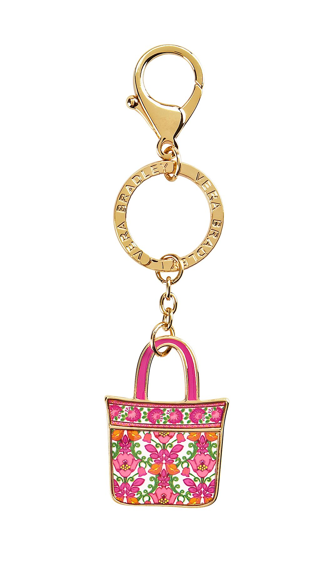 Vera Bradley Tote Around Keychain in Lilli Bell $ 15.40
