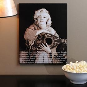 Marilyn Monroe Balalaika Plaque