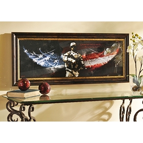 No Greater Love, Soldier Framed Print