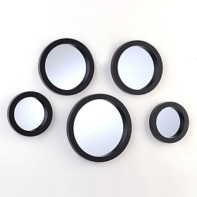 Circle Mirror, Set of 5