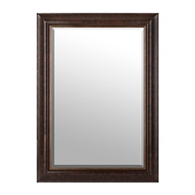 Bronze & Gold Framed Mirror, 32x44