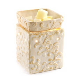 Ceramic Cream Tuscan Wax Warmer