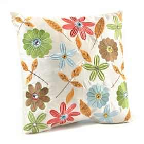 Melina Floral Pillow