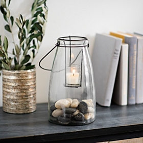 Clear Glass Lantern