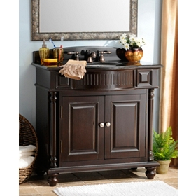 Mahogany Grandview Vanity Sink, 36in.