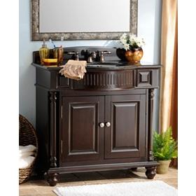 Mahogany Grandview Vanity Sink, 36in.