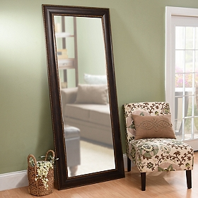 Tortoise Full Length Mirror, 34x80