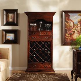 Mahogany Wood Cabinet