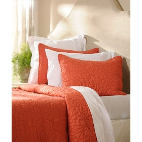 Spice Red 3-pc. King Quilt Set