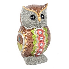 Owl Jewel Statue