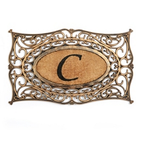 Monogram C Doormat