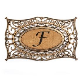 Monogram F Doormat