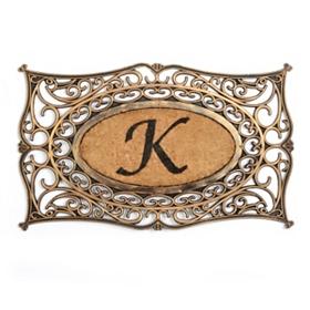Monogram K Doormat