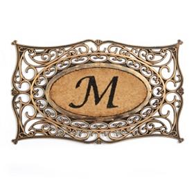 Monogram M Doormat