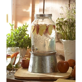 Galvanized Beverage Dispenser