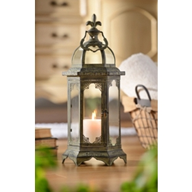 Bordeaux Metal Lantern