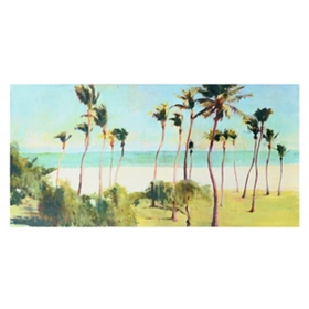 South Beach Canvas Art Print