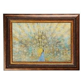 Beautiful Peacock Framed Art Print