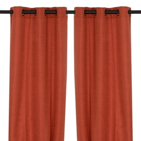 Rich Spice Curtain Panel, Set of 2