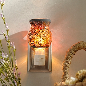 Tortoise Mosaic Night Light