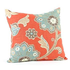 Spice & Aqua Ankara Pillow