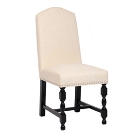 Amaranthine Linen Parsons Chair