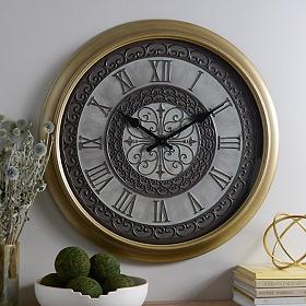 Champagne Sophia Clock