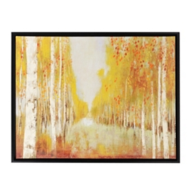 Trees of Glory Framed Canvas Print