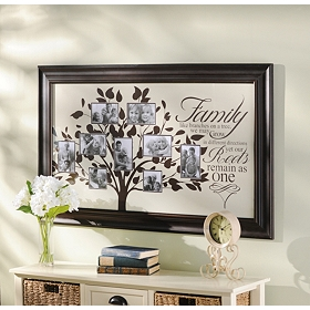 Family Sentiment Collage Frame