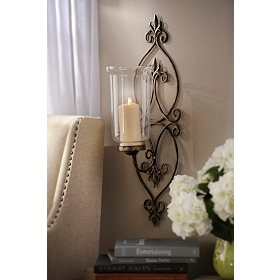 Eternity Metal Sconce