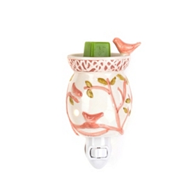 Rose Bird Tart Burner Night Light
