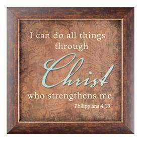 Philippians 4:13 Wall Plaque