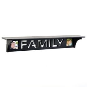 Family Cutout Shelf, 30 in.